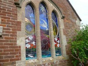 Stained glass window by Steve Sherriff
