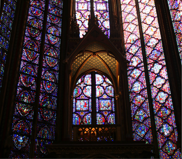 La Sainte Chapelle Stained Glass Windows Steve Sherriff