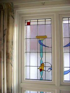Stained Glass Window Frame Case Study